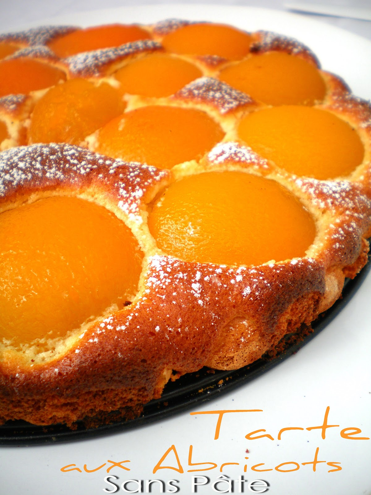 Pourquoi se priver quand c 39 est bon et l ger tarte l g re aux abricots sans p te 3 pts ww - Fond de tarte biscuit ...