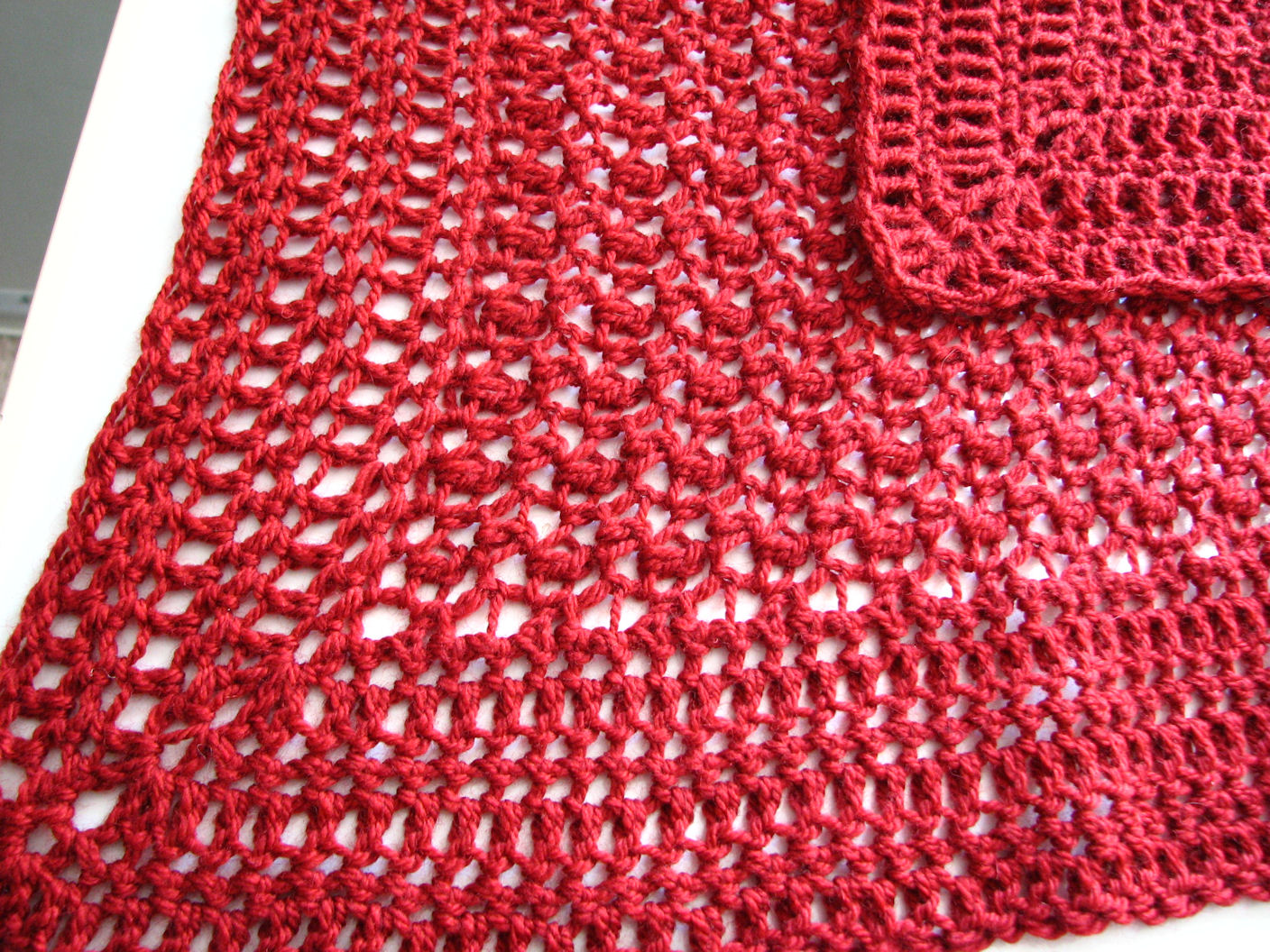 Crochet Patterns Lap Blankets : ... pattern for a very simple seed stitch lap blanket, which is available