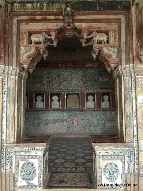 Bundi Palace Frescos