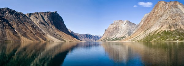 Fjord du Saglek, Parc national des Monts-Torngat. Crédit Photo : France Rivet.