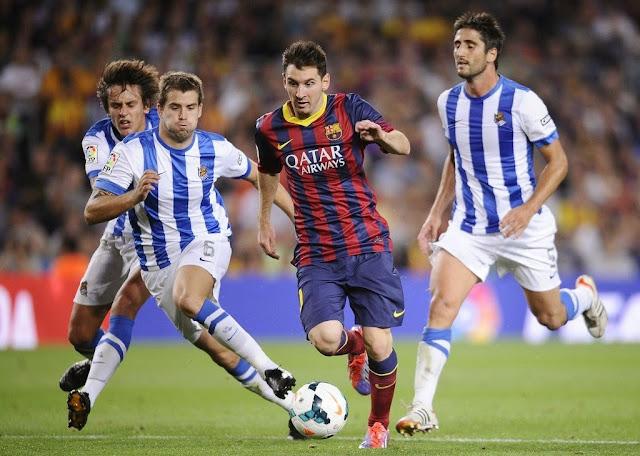 Dự đóa kết quả Barcelona vs Sociedad