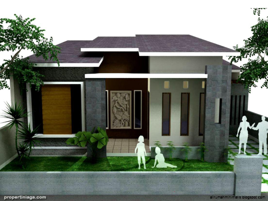 Desain Rumah Minimalis Terbaru Untuk Pasangan Muda   Desain Model