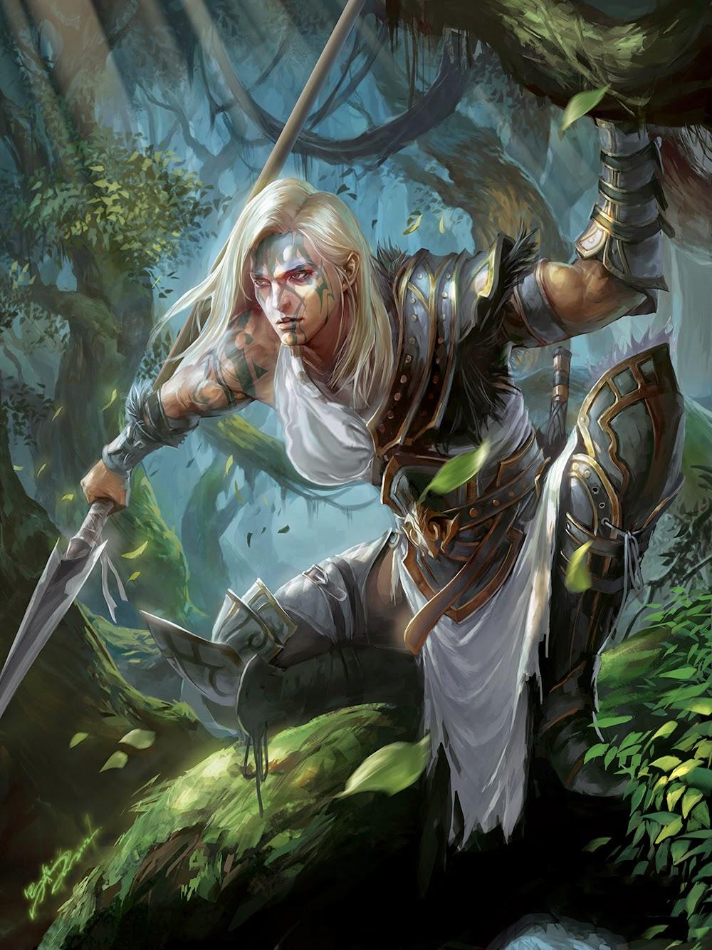 Dark elves vs goblins - 5 1