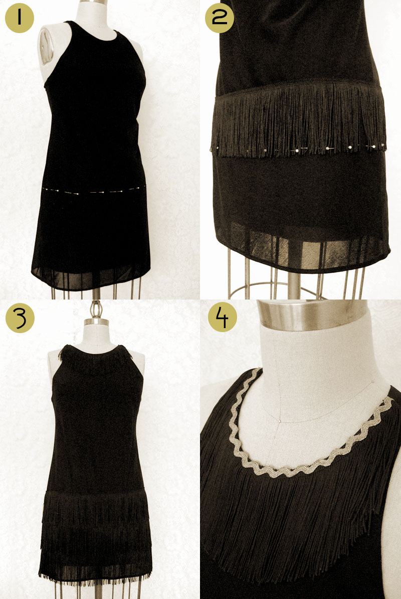 diy flapper dress wear the canvas diy flapper dress costume