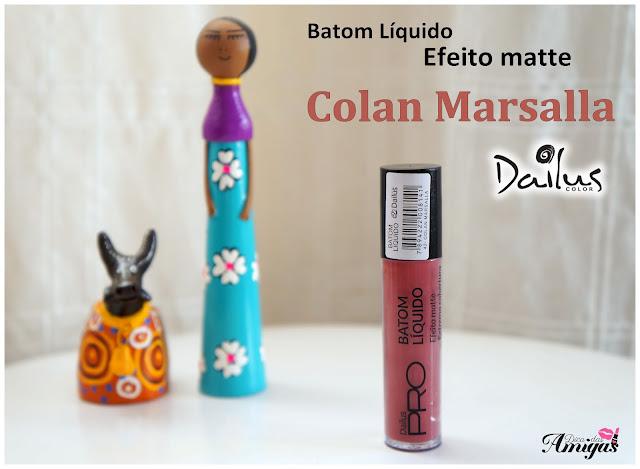 Batom Matte Marsala