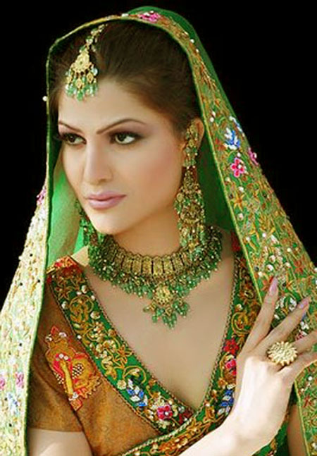 Pakistani New Bridal Dulhan Dresses Pictures