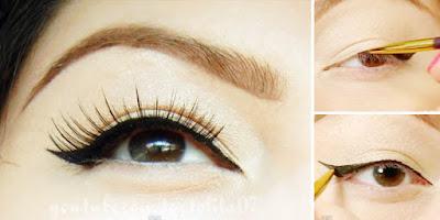 Cara Memakai Eyeliner Yang Benar