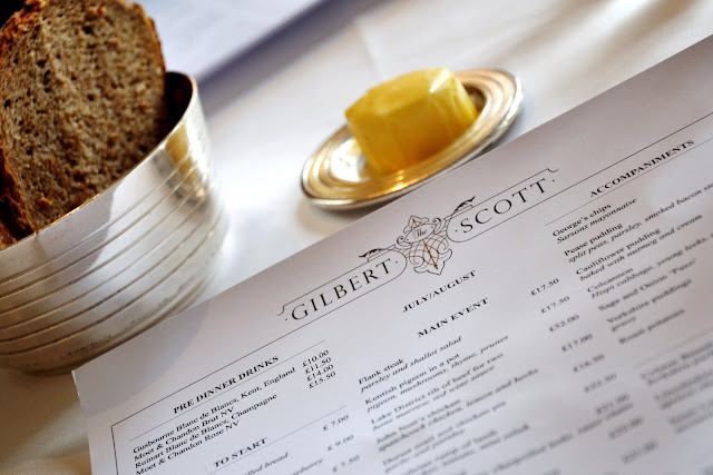 Gilbert+Scott+Kings+Cross+review+St+Pancras+Renaissance+London+Hotel+menu