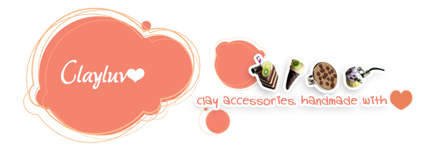 Clayluv- handmade accessories from clay!