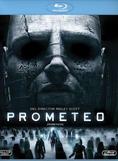 Carátula Prometeo película HD 720p latino 2012