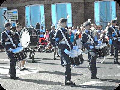 marching band, ramsgate carnival