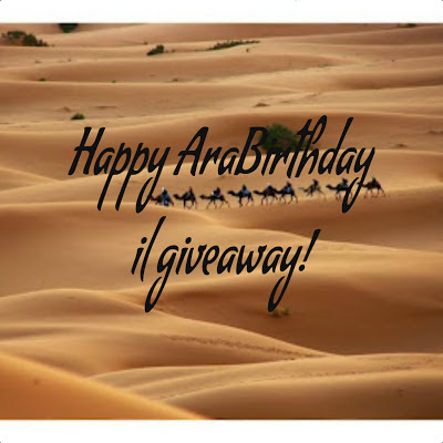 Giveaway Happy AraBirthday