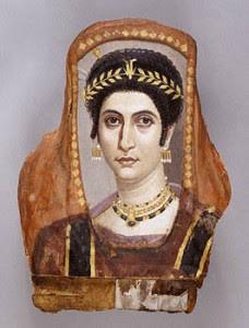 La Historia del Maquillaje Mujer-romana-228x300