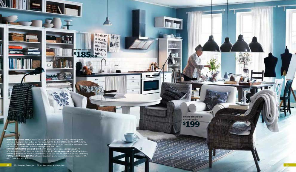 Latest Fashion Ikea Furniture And Interior Catalog 2012