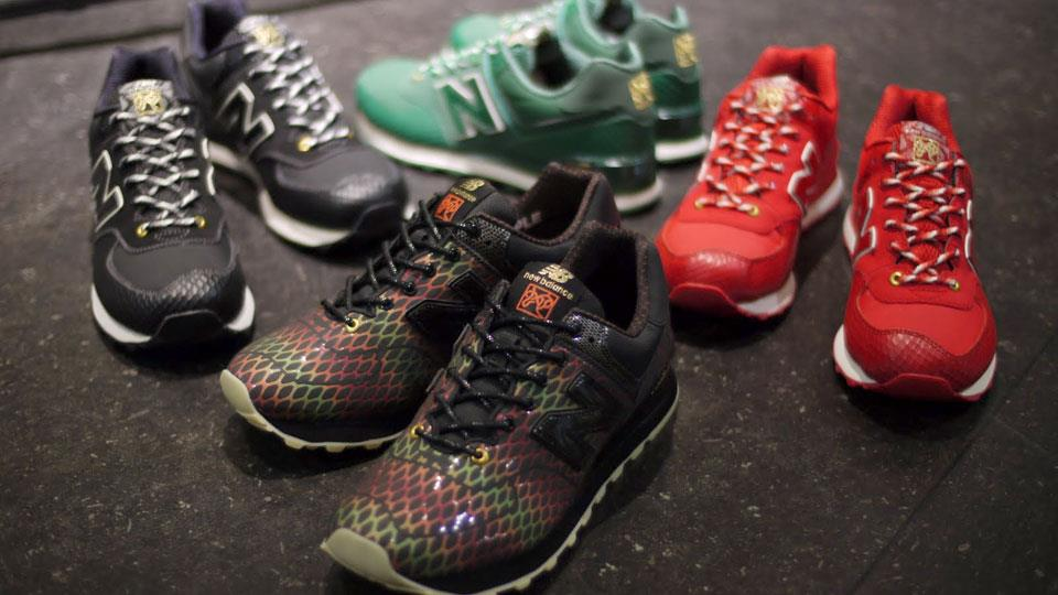 new balance 574 multicolor year of the snake