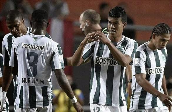 Atlético Nacional vs Junior Liga Aguila 18-04-2015