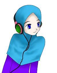 Kumpulan Gambar Kartun Akhwat Wanita Muslimah Cantik Lucu   PC Web