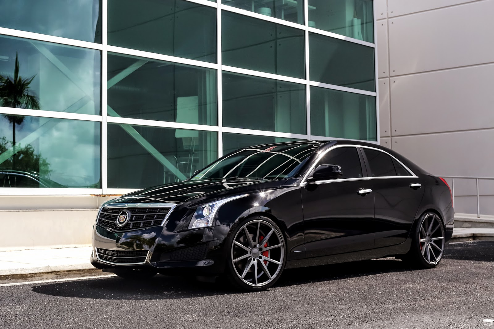 Customized Cadillac ATS by Exclusive Motoring on lowered on 20 ...