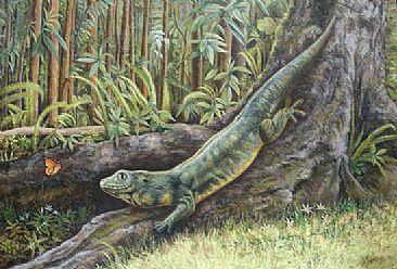 reptiles extintos Gecko gigante de Rodrigues Phelsuma gigas