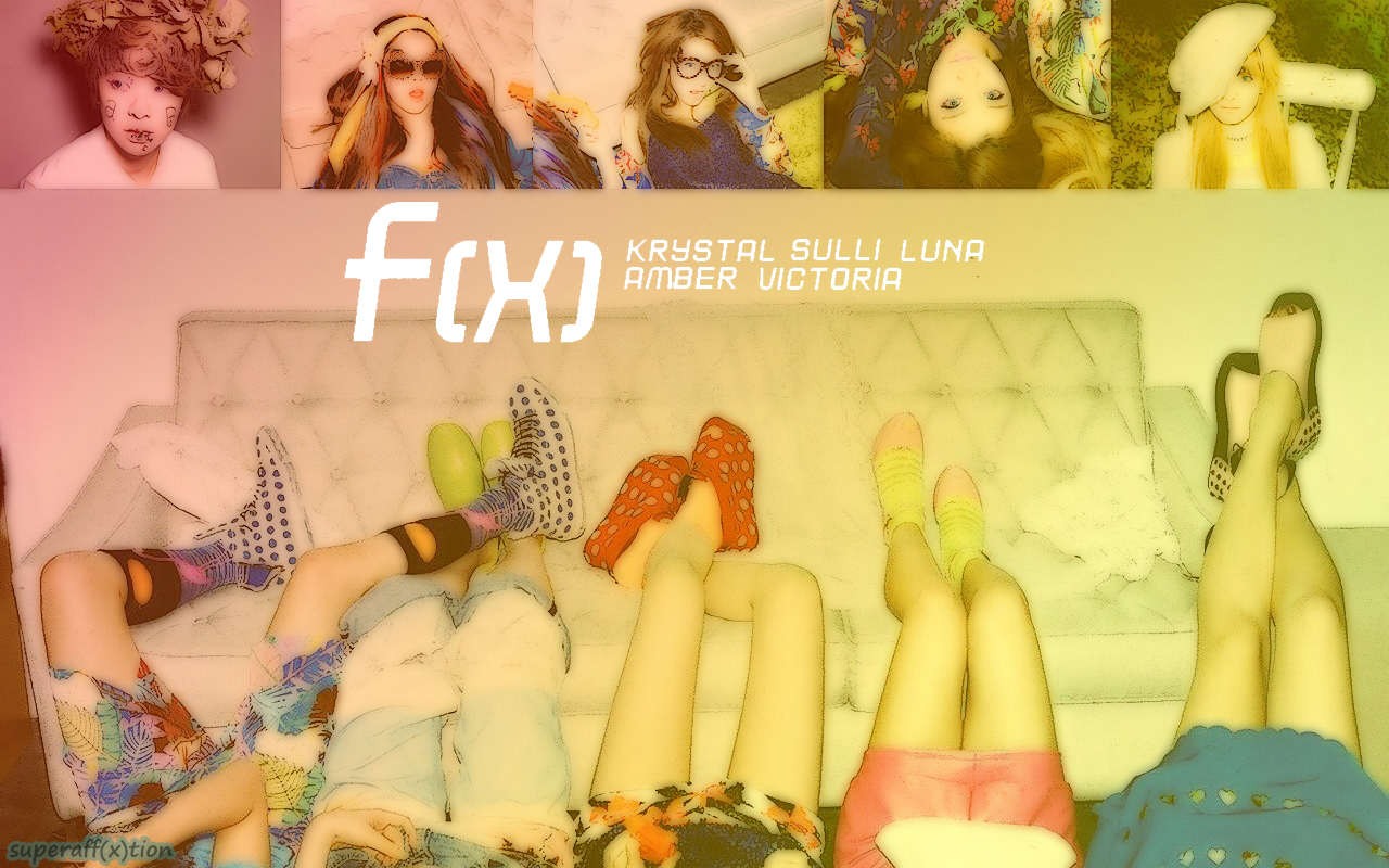 "World of K-Pop: F(x) Comeback with mini-album ""Electric Shock"" F(x) Electric Shock Album Cover"