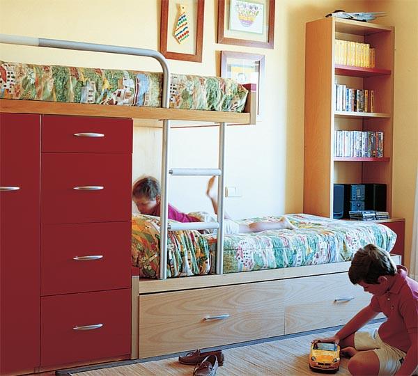 Dormitorios para nuestros peque os tips para mujeres - Habitacion nino 3 anos ...