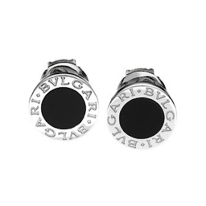Bvlgari Onyx Earrings