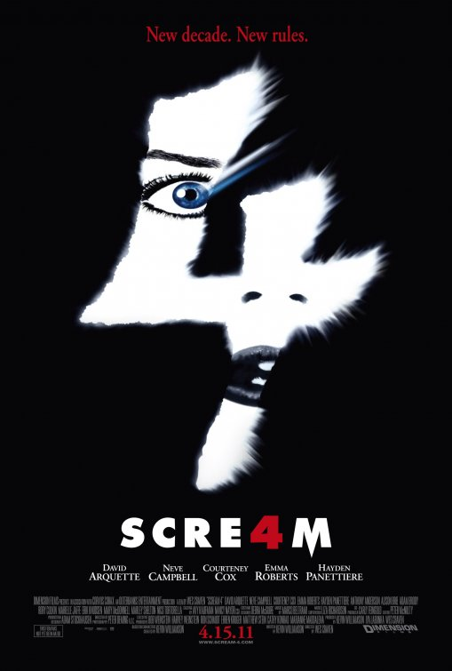 Scream 4 film poster