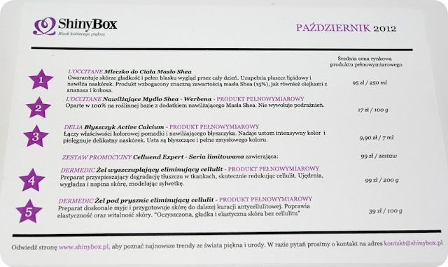 Recenzja październikowego Shinyboxa