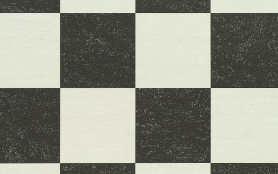 Rutigt Golv Kok Plattor : diskho kok porslin  Svartvit rutigt golv i kok och hall, absolut