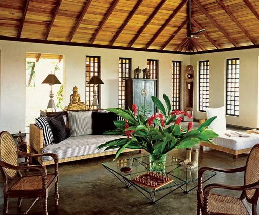 Beachnut lane design inspired by the movies out of africa Modern colonial interior design