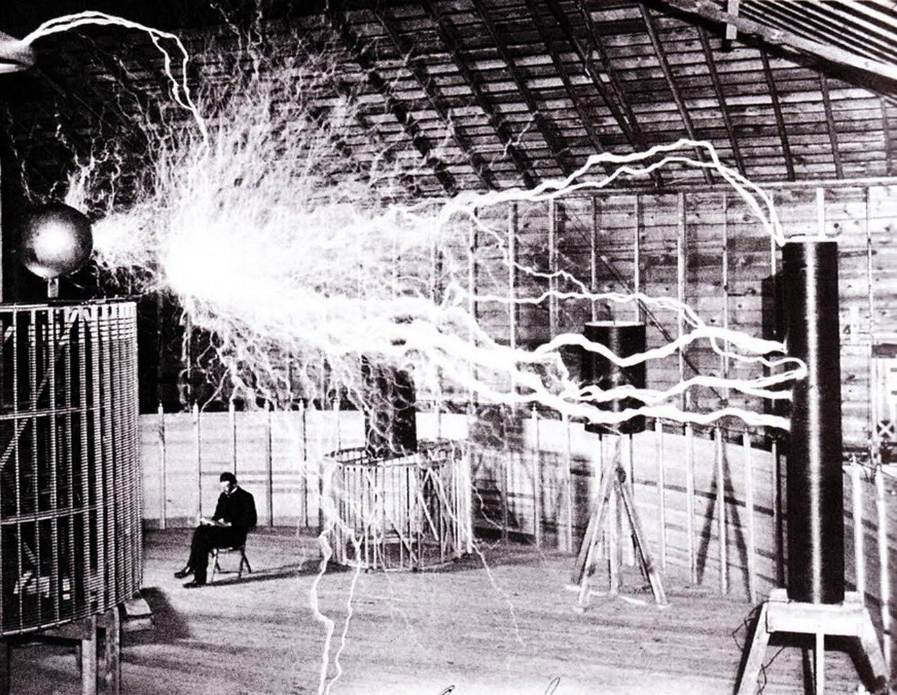 Nikola Tesla Laboratory border=
