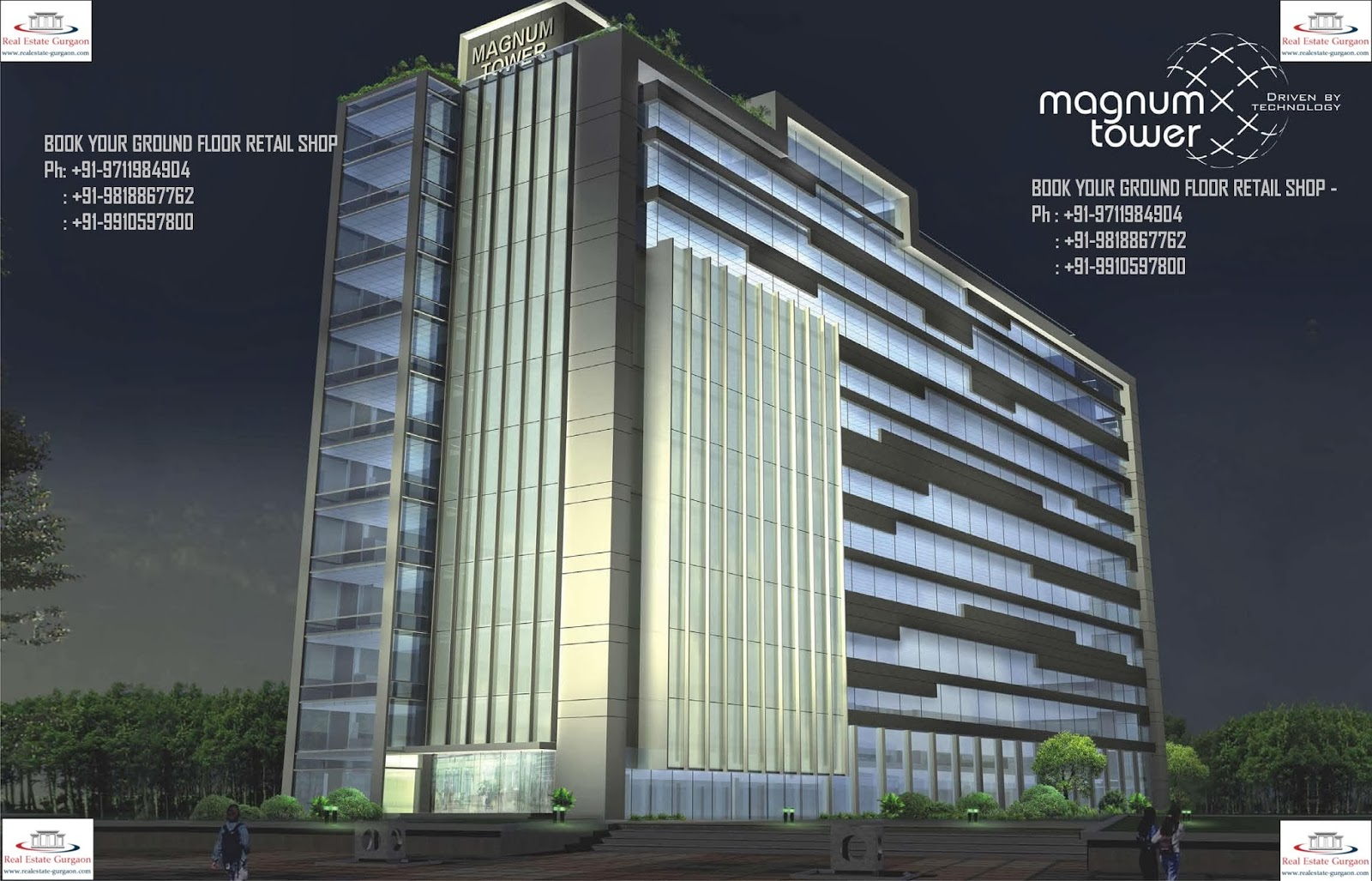 galaxy magnum tower, monnet magnum tower, galaxy-monnet magnum tower, magnum tower sec 58 gurgaon, magnum tower gurgaon