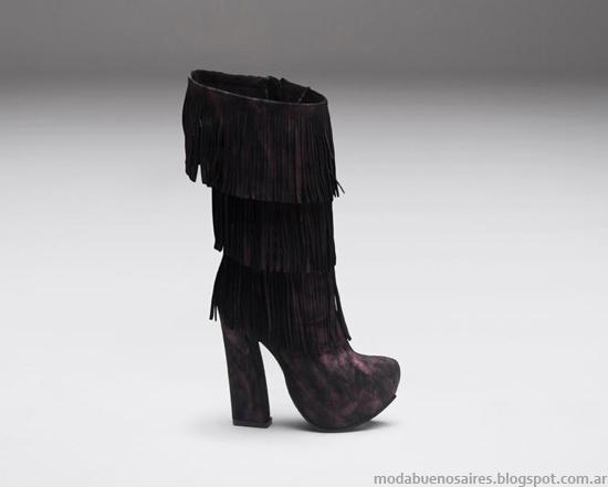 Zapatos de mujer invierno 2013 Micheluzzi