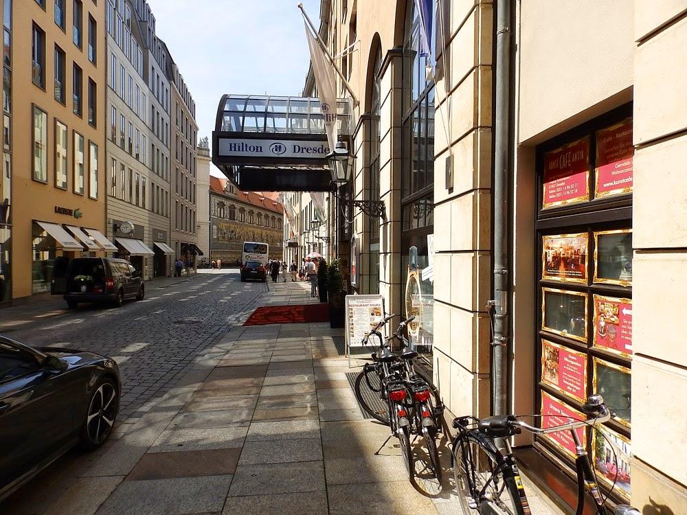 Europa urlauber dresden hotel hilton for Hotel dresden frauenkirche