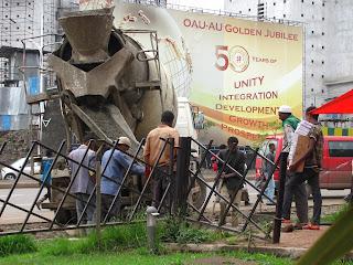 AU 50 Year Development Construction