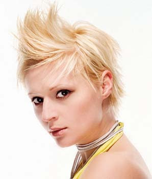 Mohawk short hairstyles