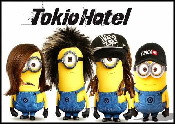 Banda Minion's Tokio Hotel