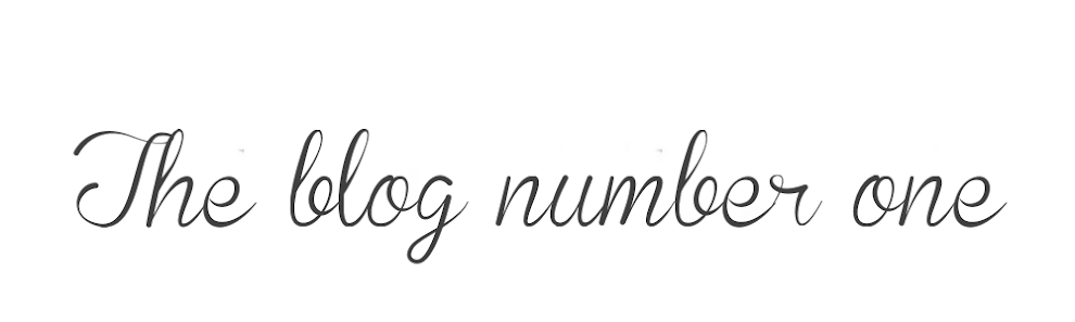 The Blog Number One