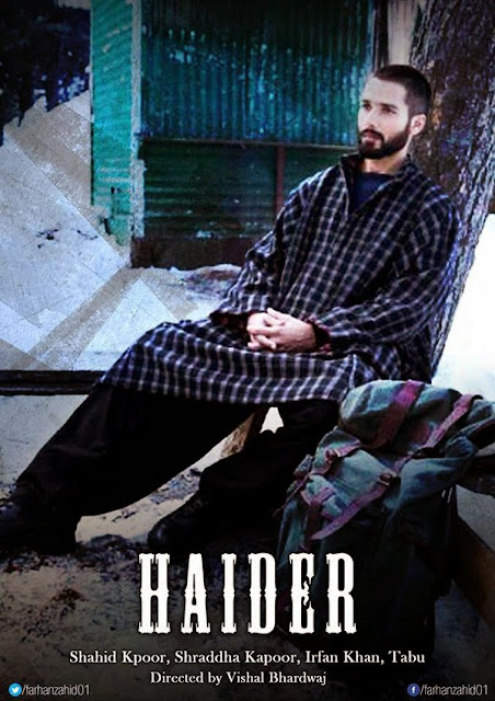 'Haider' &pictures World TV Premiere on 30 May at 8pm |Download mp3 Songs |Watch it