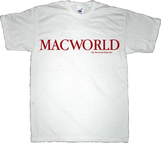 apple macintosh vintage retro magazine internet t-shirt ephemeral-t-shirts