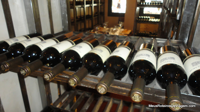 Sala de degustação de vinhos - Concha y Toro