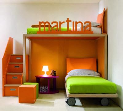 design kamar anak perempuan minimalis | inspirasi dekor rumah