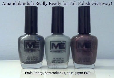 Amandalandish's Really Ready for Fall Giveaway!