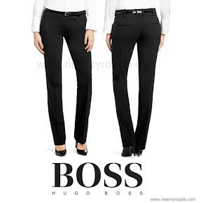 Queen Letizia Style HUGO BOSS Trousers