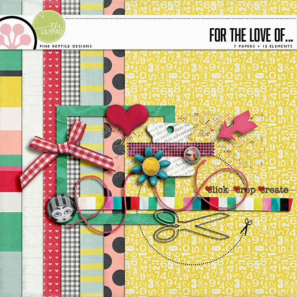 DIGI SCRAP PARADE - FOR THE LOVE OF...