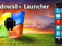 Download Aplikasi Android Windows 8 +Launcher v1.8 APK