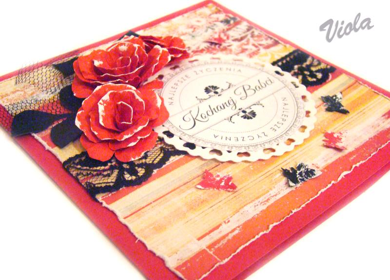 Czerwona kartka na Dzień Babci