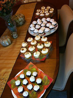 Colombiana Cupcakes: thanksgiving cupcakes
