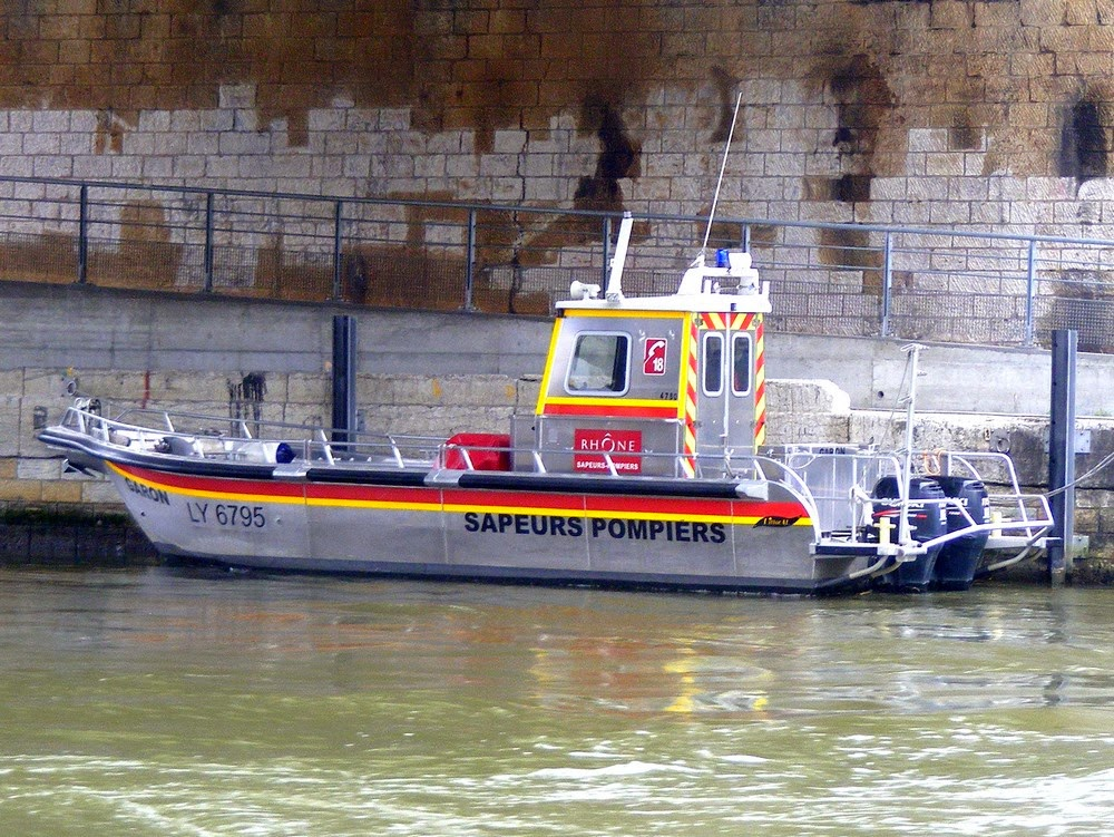 bateau+pompiers+sane+Lyon