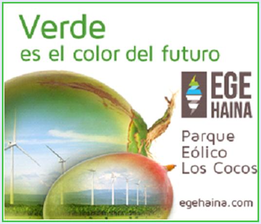 """EGE HAINA: PARQUE EOLICO LOS COCOS """"Verde es el color del futuro"""""""